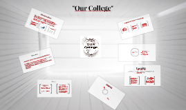 """Copy of """"Our College"""""""