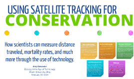 USING SATELLITE TRACKING FOR CONSERVATION
