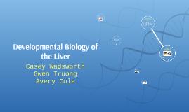Developmental Biology of the Liver