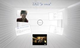 """Copy of ZAZ """" Je veux"""""""