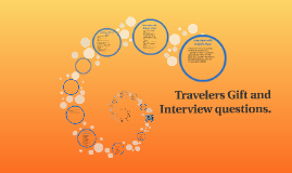 Travelers Gift and Interview questions.