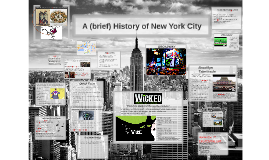 The History of New York City