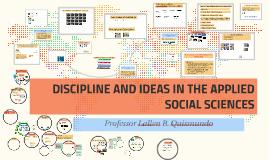 Copy of Applied Social Sciences