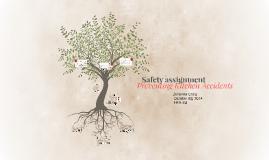 Johanna Craig Safety Assignment - Preventing kitchen Accidents