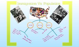Immigration Vs. Population