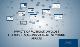 IMPACTS OF FACEBOOK ON CLOSE FRIENDSHIPS AMONG VIETNAMESE YO