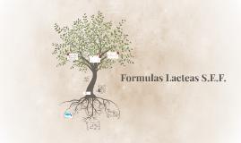 Formulas Lacteas S.E.F.