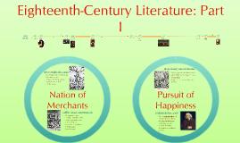 Eighteenth Century: Part I