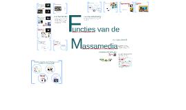 Copy of Functies van de massamedia