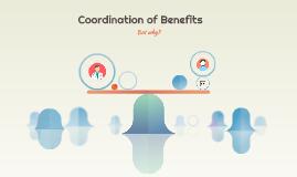 Coordinate Benefits?