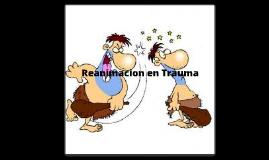 Reanimacion en Trauma