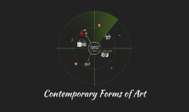 Copy of Copy of Contemporary Forms of Art