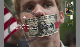COMM 398O: (pre)Occupied: The Planned Anarchy of Occupy Wall Street