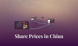 Share Prices in China