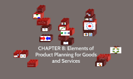 Elements of Product Planning for Goods and Services
