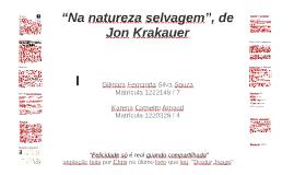 """""""Na natureza selvagem"""", de Jon Krakauer"""