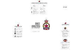 SWOT Analysis - Royal Canadian Legion