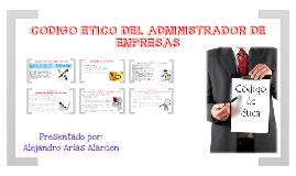Codigo de Etica del Administrador de Empresas