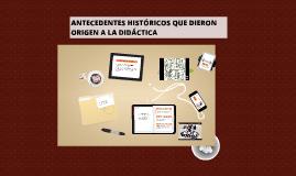 Copy of CONCEPTO DE DIDÁCTICA