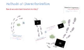 Methods of Characterizaton
