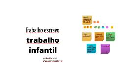Copy of Trabalho escravo