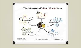 Eda's Prezumé by Eda Brana-Soto