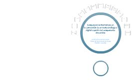 Copy of Ponencia Competencia Narrativa a partir del componente discursivo
