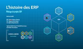 L'histoire des ERP