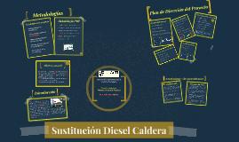 Sustitución Diesel Caldera