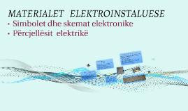 Materialet Elektro instaluese