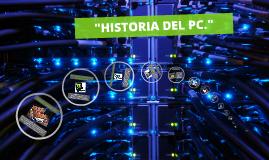 HISTORIA DEL PC