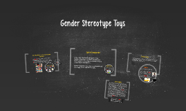Gender Stereotype Toys