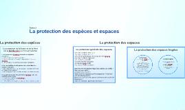 Partie 2 - La protection des espèces et espaces