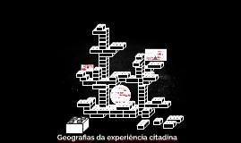 Geografia da experiência citadina