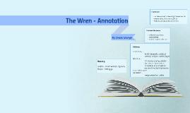 The Wren - Annotation