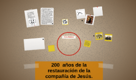 200  años de la restauración de la compañía de Jesús