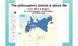 Kant, Engels & Marx