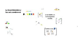 Copy of La incertidumbre y los seis sombreros