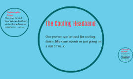 The Cooling Headband
