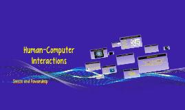 Human-Computer Interactions