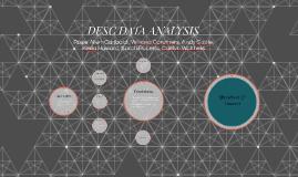 Copy of DESC Data Analysis