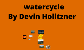 Water Cycle; By Devin Holitzner