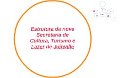 Estrutura da nova Secretaria de Cultura, Turismo e Lazer de