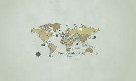 Årsaken til første verdenskrig
