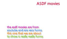 ASDF MOVIES