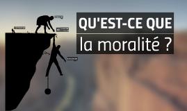 Pourquoi être moral ?