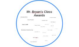 Mr. Bryan's Class