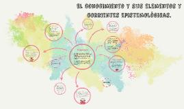 Copy of El conocimiento y sus elementos y corrientes epistemológicas