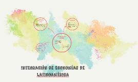 Integración de economías de latinoamérica