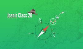Joanir Class 20